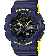 GA-110LN-2AER Layered Neon 51.2mm