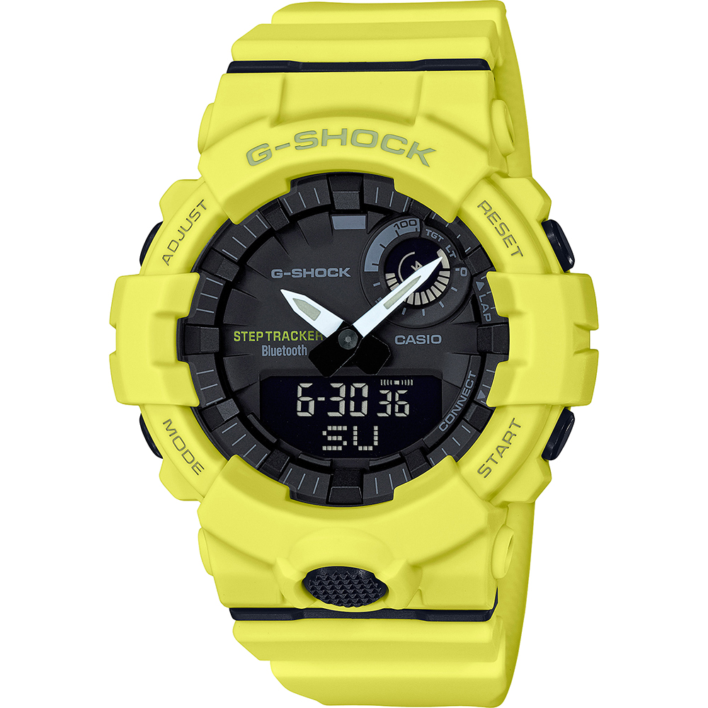 G-Shock GBA-800-9AER hodinky - G-Squad - Bluetooth