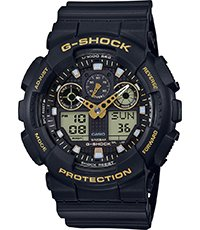 GA-100GBX-1A9ER Ana-Digi - Garrish Black 51.2mm